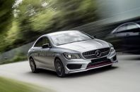 Mercedes Benz CLA W117 Diamond Look Front Grille