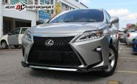 Lexus rx350 to 2016 f sport bumper coversions