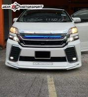 Vellfire ANH20 convert ANH30 front bumper