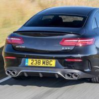 Mercedes Benz E53 Look Rear Diffuser + Muffler Tip