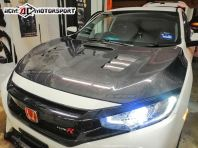 Honda Civic FC Seibon Style Carbon Hood