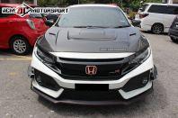 Honda Civic FC Varis Style Carbon Hood
