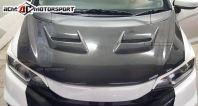 Honda Jazz GK5 Carbon JS V2 carbon bonnet