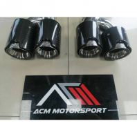 BMW G30 tail pipe bodykit carbon fiber exhaust