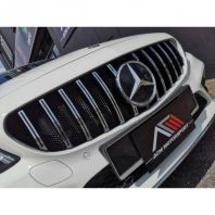 Mercedes-benz W205 GT Grill V2 with mesh protection