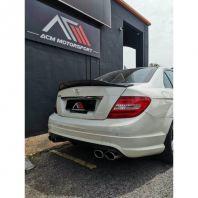 Mercedes Benz W204 RTC Carbon fiber spoiler bodykit