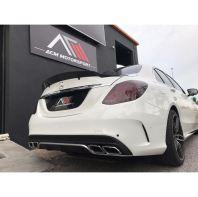 Mercedes Benz W205 Renttec Spoiler carbon spoiler bodykit