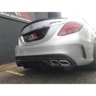 Mercedes benz W205 C63 bodykit PSM rear diffuser