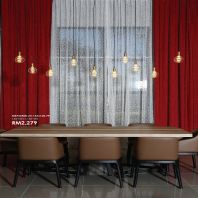 "M Reforma Custom Made French Pleat Curtain (51""-60"" w x 106"" h)"