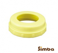Simba Leakage - Free Wide Neck Cap (2pcs) Yellow