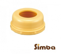 Simba Leakage-Free Standard Neck Cap -3pcs Orange