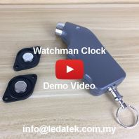 Watchman Clock with Software Demo Video