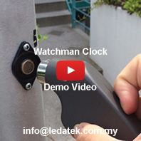 SMC Package G9 Demo Video : Watchman Clocking System + Software