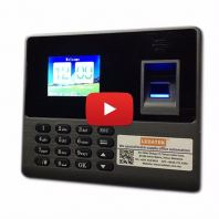 LEDATEK BC-188 Fingerprint Time Recorder Demo Video