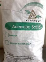 AGRICODE BIO ORGANIC COMPOUND FERTILIZER 555