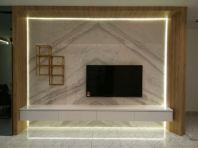 TV wall clading-Volaskas Marble