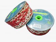 Plastic Chain Red/white