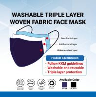3ply Washable Face Mask