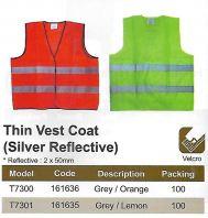 SAFETY VEST - SILVER REFLECTIVE (SW-SV06)