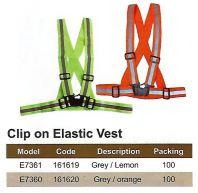 SAFETY VEST - CLIP ON ELASTIC VEST (SW-SV10)