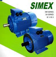 SIMEX 3P SM & SA CAST IRON MOTORS