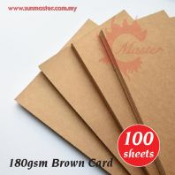 180gsm Brown Card (100s)