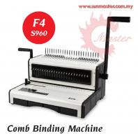 S960 Comb Binding Machine