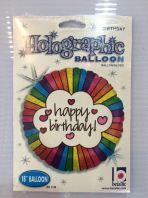 18 Inch Anagram Happy Birthday Foil Balloon