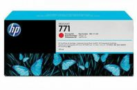 HP 771B ORIGINAL CHROMATIC RED INK CARTRIDGE (B6Y00A) COMPATIBLE TO HP PRINTER DESIGNJET Z620