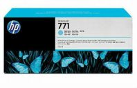 HP 771B ORIGINAL LIGHT CYAN INK CARTRIDGE (B6Y04A) COMPATIBLE TO HP PRINTER DESIGNJET Z6200