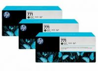 HP 771B ORIGINAL MATTE BLACK 3 PACK INK CARTRIDGE (B6Y23A) COMPATIBLE TO HP PRINTER Z6200