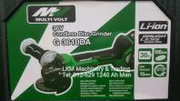 Hikoki/Hitachi 36V Brushless Motor Cordless Angle Grinder G3610DA
