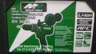 Hikoki 36V Brushless Motor Cordless Impact Driver / Combi Drill DV 36DA
