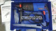 Bossman 4-26mm 900W Rotary Hammer set with drill bit BGBH-226