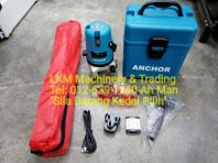 3 Line Leveling Laser Set with Tripod, Rechargeable Battery & Spec