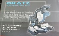 "Okatz 8""Compound Miter Saw MT812V-L"