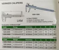 Vernier Calipers
