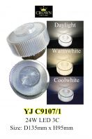 CROWN LED YJC9107/1 Ceiling Light