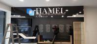 'Hamel' Laser Acylic Lettering