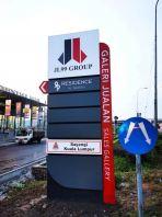 'JL99 Residence' Pylon Sign