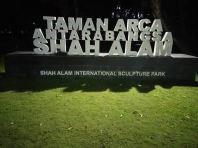 'Shah Alam Road Sign' Eg Box Up