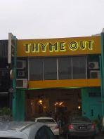 'Golden Thyme Group' Eg Box Up Lettering