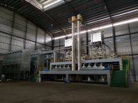 Rice intake and Dust Filter Section