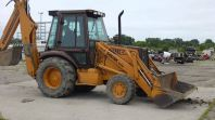 Super 580k Back Hoe 4x4
