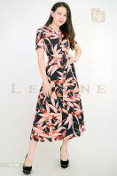 10750 PRINTED FLORAL MAXI DRESS