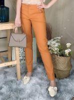 76451 Basic Pocket Detail Long Pant