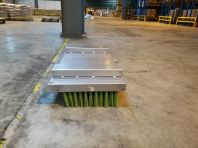 Fork Lift Attached Broom