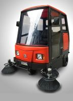 WELDUM W2000 - CLOSED LARGE ELECTRIC RIDE-ON SWEEPER