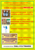 HYGIENE TOOLS SOP PACKAGE