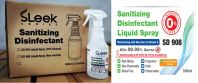 Sanitizing Disinfectant Liquid Spray